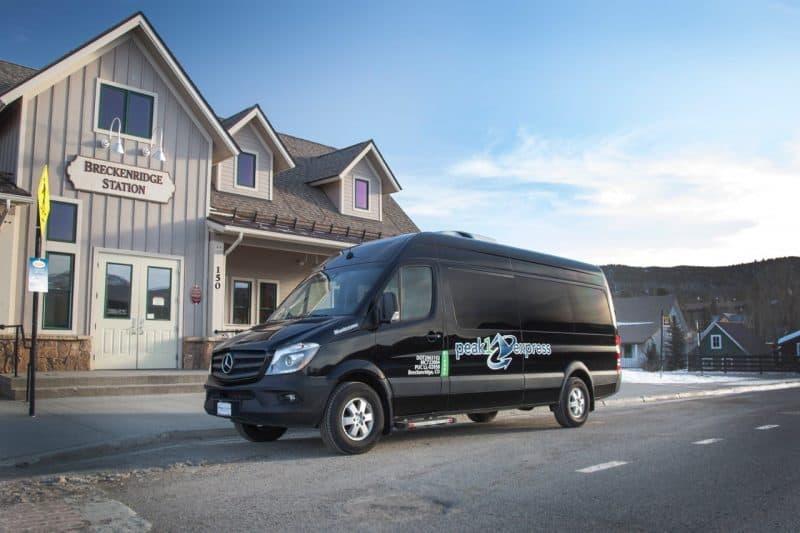 Transportation to Breckenridge Colorado